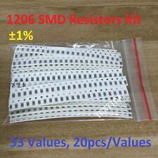 1206 Smd Resistor Element Assortment Kit 1 33 Values 20pcsvalues Total 660pcs