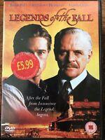 Legends Of The Fall DVD 1994 Famiglia Saga Film Epica Drama Classic W / Brad