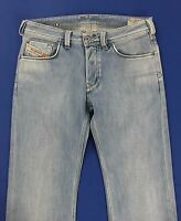 Diesel yarik w30 L34 tg 44 jeans azzurro uomo usato gamba dritta slim blu T1091