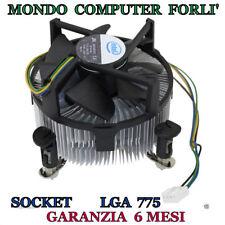 DISSIPATORE PROCESSORE SOCKET 775 LGA INTEL-ORIGINALE-DC12V-0,60A / FAN 4 PIN