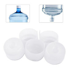 5Pcs 3&5 Gallons Plastic Water Bottle Anti-Splash Snap On Cap Replacement 55mm