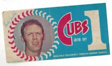 1970 Dunkin Donuts Randy Hundley Bumber Sticker excellent condition (see scan)
