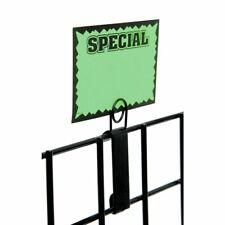 Black Grid Wall Sign Holder