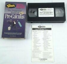 Pre-Calculus The Standard Deviants Part 1 VHS Tape Educational Video Course