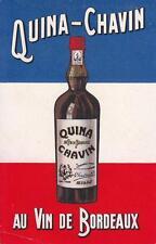 A2415) CARTONCINO. QUINA CHAVIN, AU VIN DE BORDEAUX.