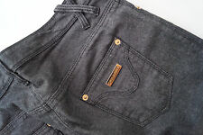 DSQUARED 2 Damen stretch Jeans Hüft Hose stretchjeans Gr.38 anthrazit TOP :