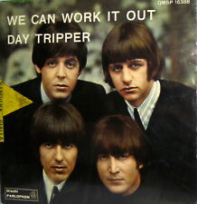 "THE  BEATLES 7"" WE CAN WORK IT OUT QMSP 16388 -  PS ITALY 1966 DAY TRIPPER"