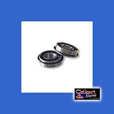 2 MINIBIKE TACO RUPP JACK SHAFT 1-3/8 X  5/8 PRECISION SNAP RING WHEEL BEARINGS