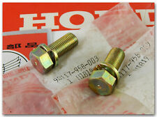 GENUINE HONDA TRX125 FOURTRAX ATC200M ATC200S REAR BRAKE DRUM/HUB BOLTS QTY.2
