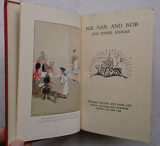 NIB,NAB,AND NOB AND OTHER STORIES.HB 1954.GOOD LUCK SERIES NO 4 BW ILLUSTRATIONS