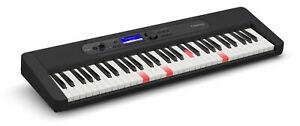 Tolles Casio LK-S450 Keyboard mit 61 anschlagdynamischen Leuchttasten und AiX