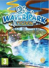 Water Park Tycoon - PC DVD - New & Sealed