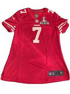 Nike Embellished NFL San Francisco 49ers Colin Kaepernick Jersey Womens M Bowl