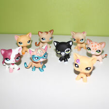 Littlest Pet Shop toys LPS cat lot red 2291 black yellow super kitty 8 pieces