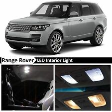24x White LED Lights Interior Package For 2002-2012 Land Rover Range Rover L322