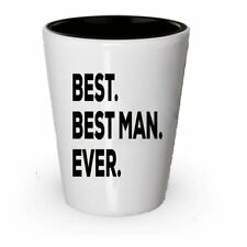 Bestman Shot Glass - Best Man Ever - Bestman Gifts - Funny Wedding Gifts From...