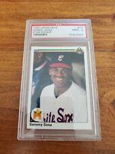 New listing 1990 Upper Deck Sammy Sosa #17 Baseball Card!!!  PSA GRADE 9!!!