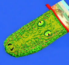Australian Souvenir 3D Crocodile Oven Mitt Puppet Cotton - O227