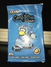 Disney Club Penguin Card-jitsu Water Booster Pack TCG CCG 3 pack lot