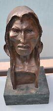 Vintage Bronze Indian Head Bust Remington??