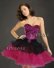 TURN UP THE HEAT! SWEETHEART NECK PARTY/DANCE/COCKTAIL DRESS Black Pink AU18US16