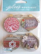 Jolee's Boutique 3D stickers - Ornaments - Christmas baubles
