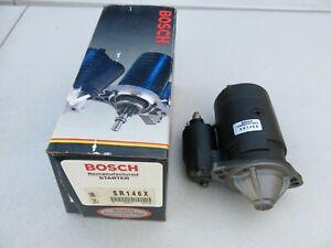 BOSCH Starter Motor Remanufactured fits 81-82 Datsun, 86-95 Nissan (SR146X)
