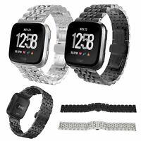 Metal Watch Wrist Band Strap Replacement For Fitbit Versa/Versa 2/Versa lite