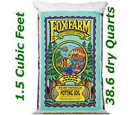 FoxFarm FX14000 Ocean Forest Plant Garden Potting Soil Mix 6.3-6.8 pH, 40 Pounds