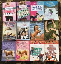 Childrens Reading Books Scholastic Chapter Book Lot of 12