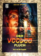 VOODOO-FLUCH / Scared Stiff - VIDEO-POSTER A1 -German 1-Sheet ´89 ANDREW STEVENS
