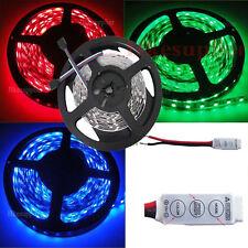 5M 150Leds RGB SMD 5050 30Leds/M Non-Waterproof Led Strip Lights+Mini Controller