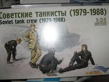 Alanger Soviet Tank Crew-1979-1988 -1/35 Scale-FREE SHIPPING