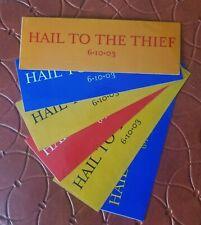Radiohead Sticker decal Hail to the Thief 2003 bumper sticker