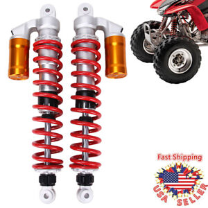 FRONT AIR SHOCKS ABSORBERS FOR SUZUKI QUADSPORT LTZ400 Z400 2003-2014 ATV SHOCKS
