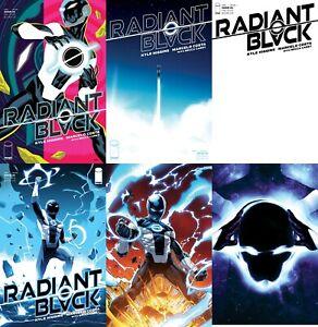 RADIANT BLACK #1 1:50,25,10 VARIANT COVER SET OF 6 MONTES FINCH IMAGE COMIC 2/17