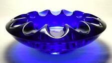 More details for vintage czech sklo union/rosice glass ashtray/bowl by adolf matura c1960s