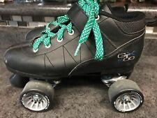 Pacer Gtx 500 Roller Skates Black Sure-Grip Size 8 P217B Roller Boots Disco