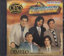 Los Temerarios Linea De Oro CD Nuevo Sealed