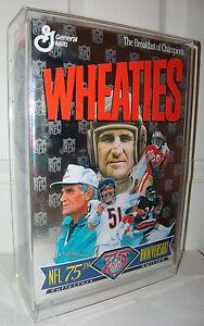 Commemorative Full Size NFL 75th Wheaties Box Walter Payton Butkus Jerry Rice