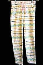 Girl's Multi-Colored Creative Patterned Pants Pink Ties By Cat&Jack Size M