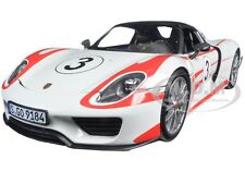 2013 PORSCHE 918 SPYDER SALZBURG #3 LTD 750PCS 1/18 BY MINICHAMPS 110062441