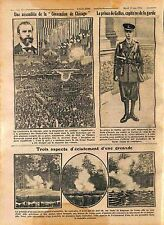 Charles Evans Hughes Republican Convention Chicago/Prince of Wales UK WWI 1916