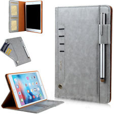 Smart Leather Case Wallet Card Stand Folio Cover For iPad mini 1/2/3/4 Air /PRO