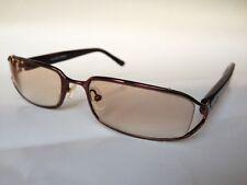 Helium Eyewear Prescription Eyeglasses/Sunglasses HE4028R 52-17-135 Brown France