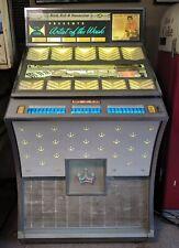 Vintage Seeburg Ds160 Jukebox, Artist of the Week Select-O-Matic