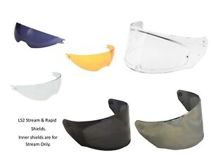 *Ships Same Day* LS2 Scratch Resistant Shields for FF328 Stream and Rapid Helmet
