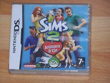 LES SIMS 2 ANIMAUX & CIE  VF DS 2DS 3DS boite cartouche livret