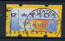 Allemagne 1999 étiquette de machine utilisé 110pf #A 28756