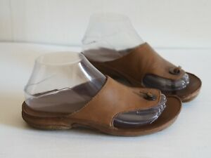 Clarks Sandals 4 Brown Leather